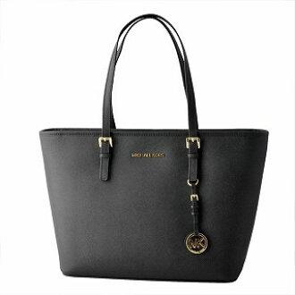 85843dbf6fd375 CUORE: Michael Kors MICHAEL KORS 30S4GTVT2L 001 BLACK MK charm zip tote bag  medium JET SET TRAVEL belonging to | Rakuten Global Market