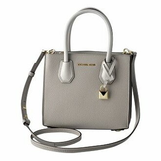 b15e224f41f CUORE  Michael Kors MICHAEL KORS 30T8TM9M2L 081 Pearl Grey Mercer medium  color block 2WAY shoulder bag handbag MERCER MD   Rakuten Global Market