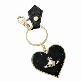 ヴィヴィアン ウエストウッド Vivienne WestWood 321565 BLACK ハートモチーフ キーリング バッグチャーム GADGET MIRROR HEART【r】【新品・未使用・正規品】