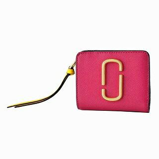 マークジェイコブス MARC JACOBS M0013360-662 ダブルJロゴ スナップショット カラーブロック 二つ折り ミニ財布 Snapshot Mini Compact Wallet【r】【新品・未使用・正規品】