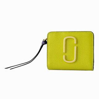 マークジェイコブス MARC JACOBS M0013360-773 ダブルJロゴ スナップショット カラーブロック 二つ折り ミニ財布 Snapshot Mini Compact Wallet【r】【新品・未使用・正規品】