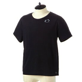 SAINT LAURENT PARIS サンローラン Tシャツ 557491 YBAQ2 1095 NOIR-NATURELブラック【c】【新品・未使用・正規品】