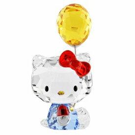スワロフスキー SWAROVSKI 5301578 ハローキティ 「バルーン」 クリスタルフィギュア 置物 Hello Kitty Balloon【r】【新品・未使用・正規品】