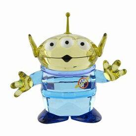 スワロフスキー SWAROVSKI 5428575 ディズニー トイ・ストーリー 「エイリアン」 クリスタル フィギュア 置物 Disney Toy Story Alien【r】【新品・未使用・正規品】