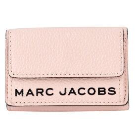 マークジェイコブス MARC JACOBS M0015111-654 ザ テクスチャード ボックス ジップ 三つ折り ミニ財布 The Textured Box Mini Trifold【r】【新品/未使用/正規品】