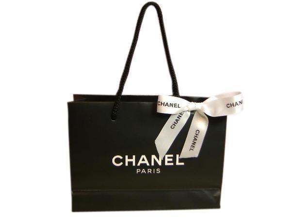 CHANEL シャネル 紙袋 ショッパー ショップバッグ ラッピング S/M ギフト