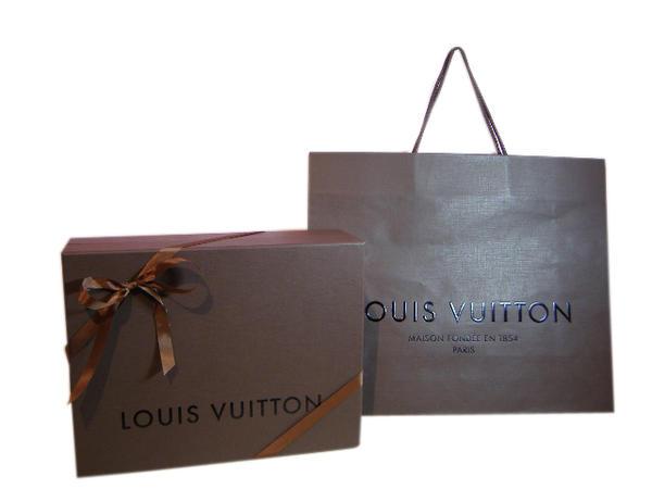 Louis Vuittonルイヴィトン 紙袋 ショッパー ラッピング L