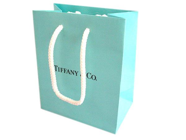 TIFFANY ティファニー 紙袋 ラッピング S