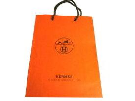 8c791afe1354 HERMES エルメス ラッピング 紙袋 M(または箱) ショッパーショップ袋 ギフト