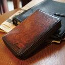 [青木鞄] G-3(ジースリー):ラウンドファスナー縦型二つ折り財布[5190] 【送料無料】 Lugard G3 *牛革 二つ折り財布 …