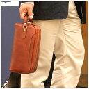 【送料無料】Lugard:Nevada ネヴァダ:ダブルルーム型ボックスセカンドバッグ[4972][ネバダ] *牛革/日本製/メンズバッグ/色:ブラウン* 【楽...