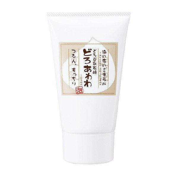 ☆健康コーポレーション どろ豆乳石鹸 どろあわわ あわわ洗顔 110g☆【使いやすい限定チューブタイプ】洗顔