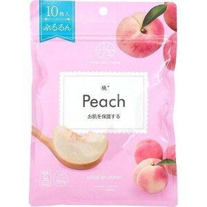 【メール便対応】☆ジャパンギャルズ マスクソムリエ 桃 Peach 10枚☆