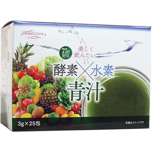 ☆HIKARI 酵素×水素×青汁 3g×25袋☆