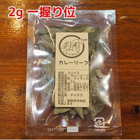 スパイス 小袋 使い切り カレーリーフ 2g