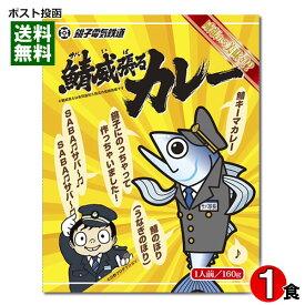 【メール便送料無料】千葉県のご当地カレー 銚子電鉄 鯖威張るカレー 160g