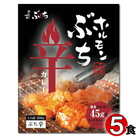 広島ご当地カレー ホルモンぶち辛カレー 200g×5食まとめ買いセット