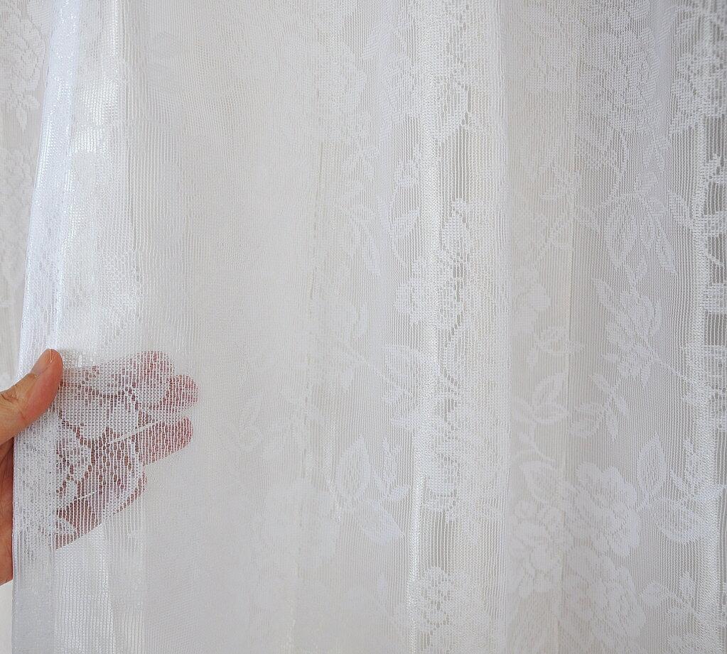 【あす楽】ミラーレースカーテンUVカットおしゃれ可愛い薔薇日本製【サークル・ミーシャ・ローズ】