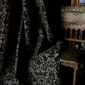 【WSカーテン】アーコール|WS【オーダー】アーバンクラシック フロッキープリント モダン