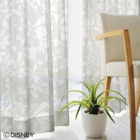 ディズニーレースカーテン カーニバルボイル|MICKEY(ミッキー) ミッキーマウス|Disney オーダー ボイルレース ボタニカル