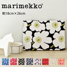 ファブリックパネル マリメッコ 北欧 ミニウニッコ ミニサイズ(約18×26cm) ファブリックボード おしゃれ かわいい ウォールパネル 生地 ギフト レッド ブルー ベージュ ホワイト ブラック marimekko MINIUNIKKO