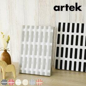 ファブリックパネル アルテック 北欧 シエナ ミニサイズ(約18×26cm) ファブリックボード おしゃれ かわいい ウォールパネル 生地 ギフト ブラック ホワイト レッド artek