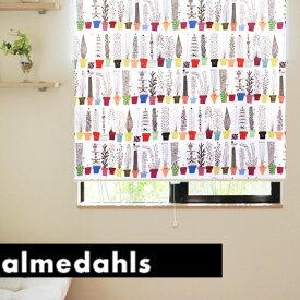 ロールスクリーン ロールカーテン アルメダールス almedahls イタリエンスクブロムスティルヒッラ 北欧 オーダー 小窓