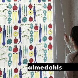 ロールスクリーン ロールカーテン アルメダールス almedahls ピクニック 北欧 オーダー 小窓
