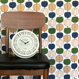 北欧カーテン ワイデザイン ポメグラ グリーン オーダーカーテン 北欧ブランドカーテン ザクロ フルーツ ポップ スウェーデン おしゃれ かわいい Lotta Ahnstrom Ydesign