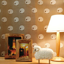 【WSカーテン】シープ|WS【オーダー】ポップ かわいい 寝室 子供部屋 ナチュラル