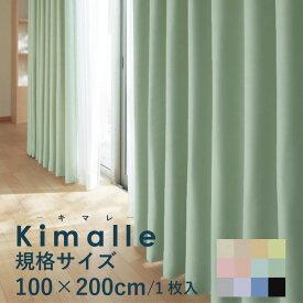 規格サイズ遮光カーテン100×200cm 1枚入遮光1級 遮熱機能 形状安定加工 日本製