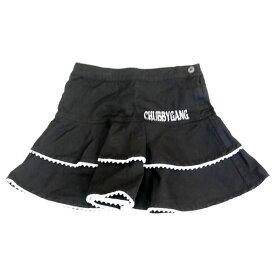 [2015秋冬セール商品60%OFF]CHUBBY GANG ストレッチツイルスカート(140-150cm)【セール商品のため代引き対象外】