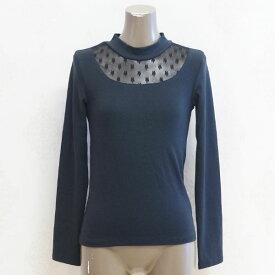 [2015秋冬セール商品60%OFF]CHUBBY GANG フラワーチュールデザインハイネックTシャツ(140-160cm)【セール商品のため代引き対象外】