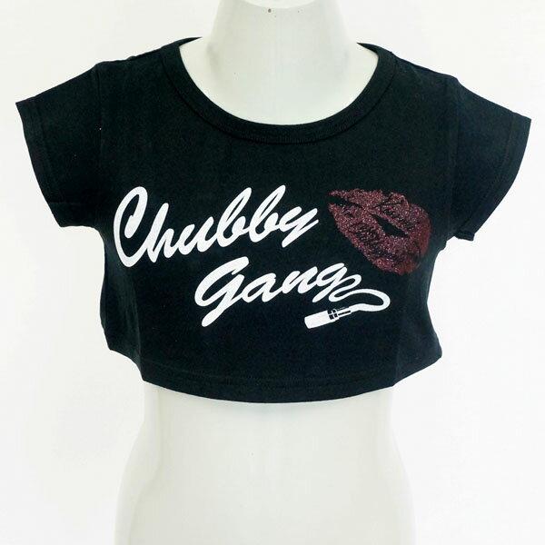 [セール商品50%OFF]CHUBBY GANG ショート丈半袖Tシャツ【セール商品のため代引き対象外】【合計10,800円(税込)以上お買い上げで送料無料】
