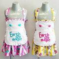 [2016春夏商品]EARTHMAGICストライプマフィー柄ジャンパースカート