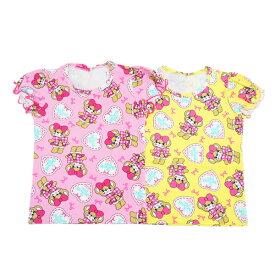 【6/17 再入荷】[2019春夏商品]EARTH MAGIC リボンマフィー総柄 パフスリーブ Tシャツ【セール商品のため代引き対象外】【合計10,800円(税込)以上お買い上げで送料無料】