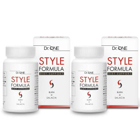 スタイルフォーミュラ 60日分 糖質制限 ダイエット サプリ サラシア αリポ酸 L-カルニチン コエンザイムQ10 ビタミンB1 ビタミンB2 STYLE FORMULA