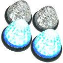 トラック用 マーカーランプ LED サイド マーカー 16LED 24V 用 汎用 4個セット ブルー/レッド/ホワイト/オレンジ/グリーン 各色