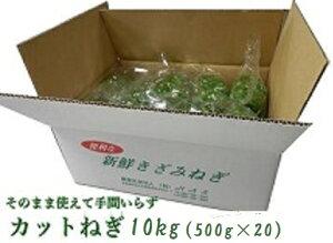 阿波の新鮮カットねぎ10kg(500g×20)