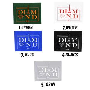 スケートボード ブランド ステッカー Diamond ダイアモンド シール Diamond Sticker 5coloerストリート オシャレ ファッション アイテム