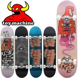 【当店ではボードケースと専用工具付き】スケボー スケートボード メーカー純正コンプリート Toy machine トイマシーン 8.38 8.13 8.0 7.75 モンスター 完成品 初心者