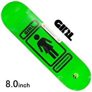 スケボー デッキ スケートボード GIRL ガールBANNEROT 93 TIL 8.0inch 老舗ブランド 板 チョコレート ブランドデッキ