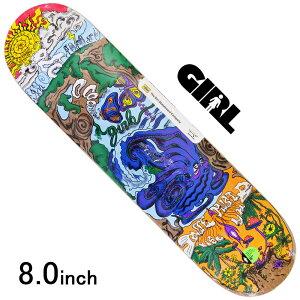 スケボー デッキ スケートボード GIRL ガールBANNEROT WE MUST VISUALIZEDE 8.0inch 老舗ブランド 板 チョコレート ブランドデッキ