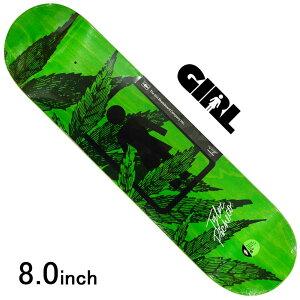スケボー デッキ スケートボード GIRL ガールPACHECO SMOKERS ONE OFF DECK 8.0inch 老舗ブランド 板 チョコレート ブランドデッキ