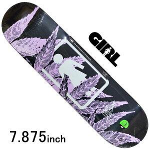 スケボー デッキ スケートボード GIRL ガールWILSON SMOKERS ONE OFF DECK 7.875inch 老舗ブランド 板 チョコレート ブランドデッキ