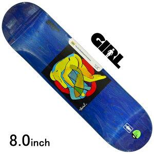 スケボー デッキ スケートボード GIRL ガールPACHECO TANGLED ONE OFF DECK 8.0inch 老舗ブランド 板 チョコレート ブランドデッキ