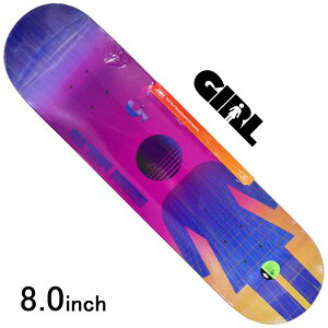 スケボー デッキ スケートボード GIRL ガールMALTO FUTURE OG DECK 8.0inch 老舗ブランド 板 チョコレート ブランドデッキ