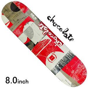 スケボー デッキ スケートボード CHOCOLATE チョコレートANDERSON (RED) DECK 8.0inch Kenny Anderson Model 老舗ブランド 板 ガール ブランドデッキ