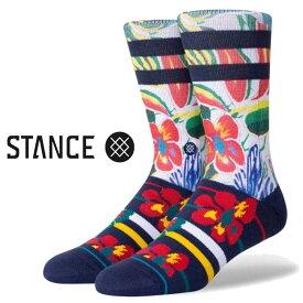 スタンス ソックス 靴下 メスィー Stance Socks Messy ST 限定モデル 1足セット メンズ L 25.5-29.0cm メンズ ファッション 小物
