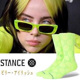 スタンス ソックス 靴下 ビリー・アイリッシュ Stance Socks Blohsh 限定モデル 1足セット メンズ L 25.5-29.0cm メンズ ファッション 小物
